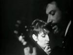 Barbara et le beau Georges Moustaki : la dame brune