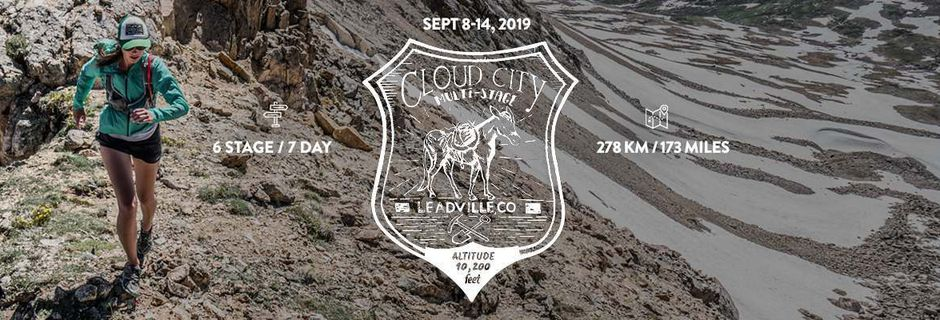 Cloud City 2019,  Course à Etapes, Leadville, Colorado, US