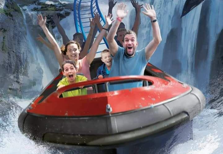 Sensations et plaisirs aquatiques en 2021 à Nigloland avec Krampus Expedition