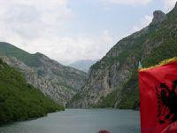 Lac de Koman (Albanie en camping-car)