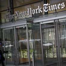 "Au New York Times, ""l'autocensure est devenue la norme"""