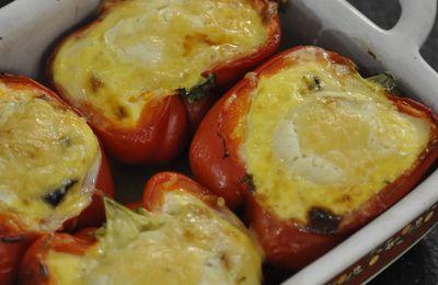 Poivron-quiche aux légumes
