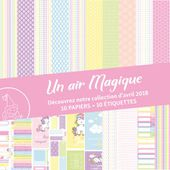 FDSK020 : Pack Un air magique FEE DU SCRAP