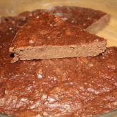 Gâteau au chocolat (et au légume vert...) - MON MARAÎCHER A LA CASSEROLE