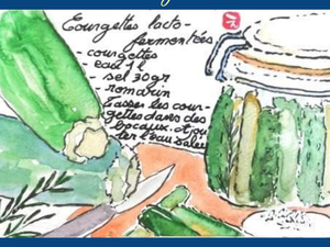 Etegami recettes Valérie Eguchi