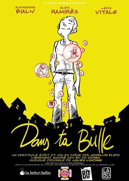 Menton: SAISON THEÂTRALE ET MUSICALE 2015 SPECTACLE « DANS TA BULLE » Samedi 23 mai