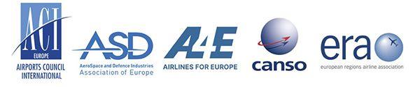 cinq associations aéronautiques européennes aerobernie