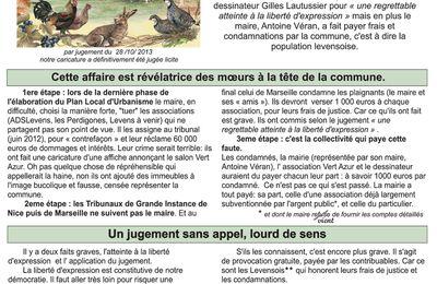 AFFAIRE VERT AZUR (4): LA MAIRIE A PAYE LES TROIS CONDAMNATIONS