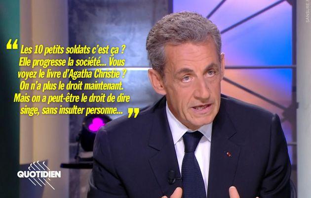 Le dérapage de Nicolas Sakozy dans Quotidien ! (Vidéo) #Sarkozy