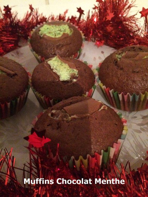 Muffins Chocolat Menthe