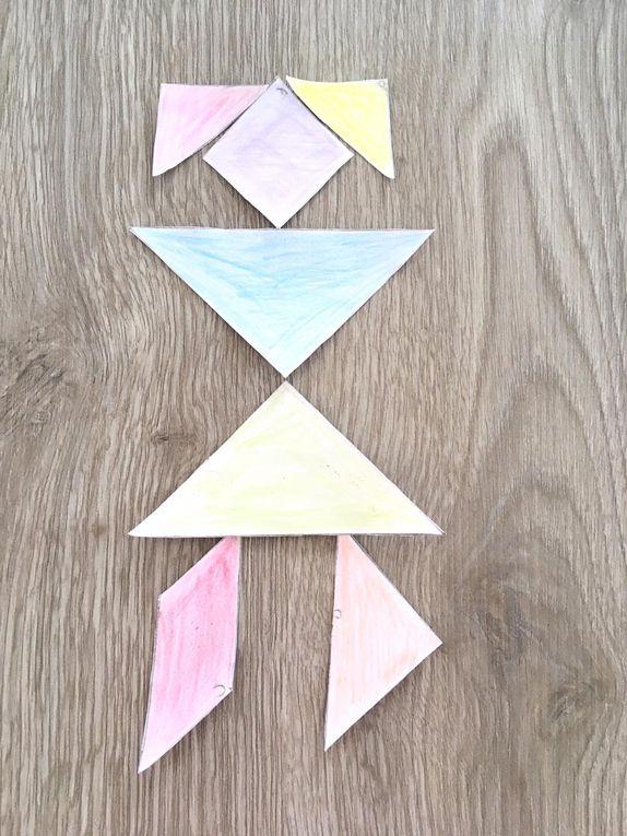 Le puzzle Le Tangram ... pour faire des maths en amusant !
