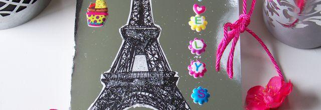 Inspiration Parisienne pour une carte de Ste catherine !