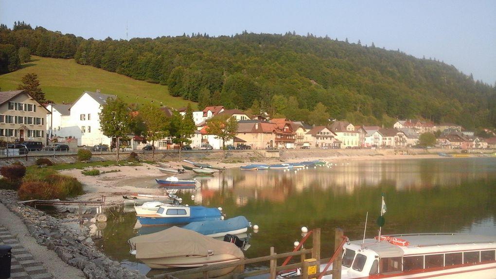 Vallée et Lac de Joux : calme et  sérénité.