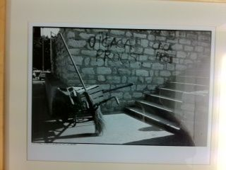 Proust pour tous: un graffiti irrespectueux; where is respect?