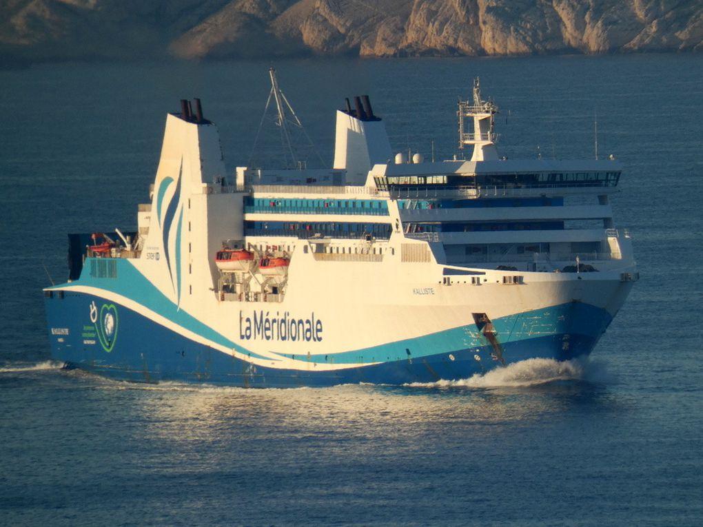 KALLISTE , arrivant au port de Marseille le 01 mai 2019