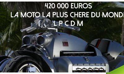 420 000 € ! La moto la plus chère du monde ! La Tomahawk Dodge