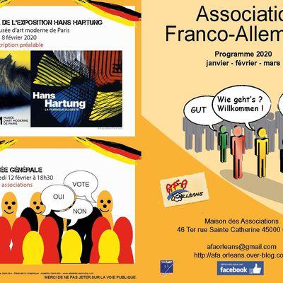Programme Janvier, Février, Mars 2020