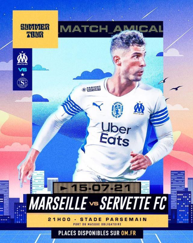 Marseille / Servette de Genève : Sur quelle chaîne suivre la rencontre jeudi ?