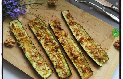 Courgettes rôties au four
