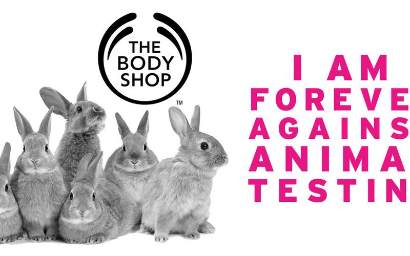 CRUELTY FREE FOREVER PAR THE BODY SHOP