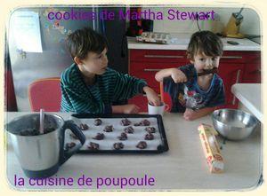 Cookies de Martha Stewart au thermomix