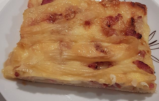 pizza tartiflette