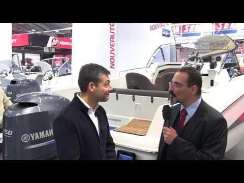 Interview vidéo Nautic 2012 - nouveau, le Pacific Craft 650 SC