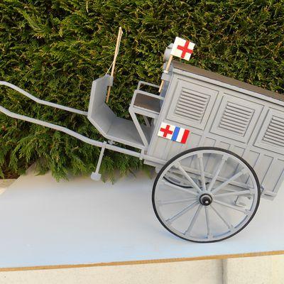Ambulance LEFEVRE à suspension de 1887