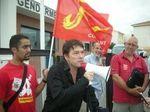 Mobilisation de soutien à Philippe Galano