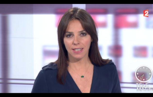 [2012 11 19] SOPHIE LE SAINT - FRANCE 2 - LE JOURNAL @07H30