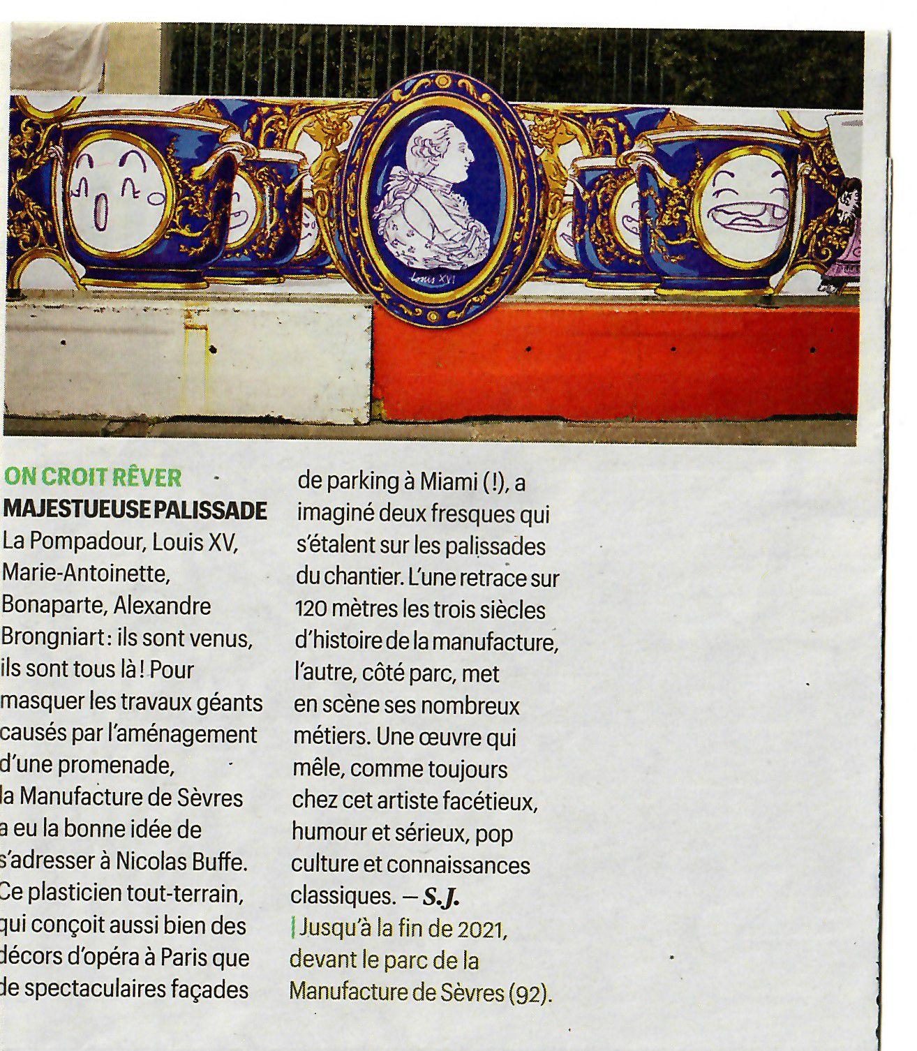 Vu et lu dans Télérama n° 3717 du 07/04/21
