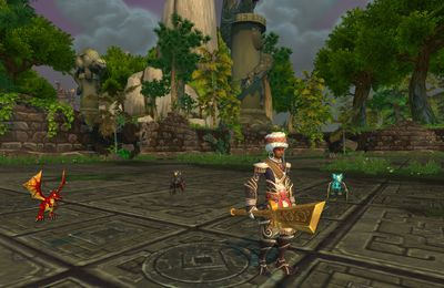 World of Warcraft : le prince noir et l'ile du Temps figé