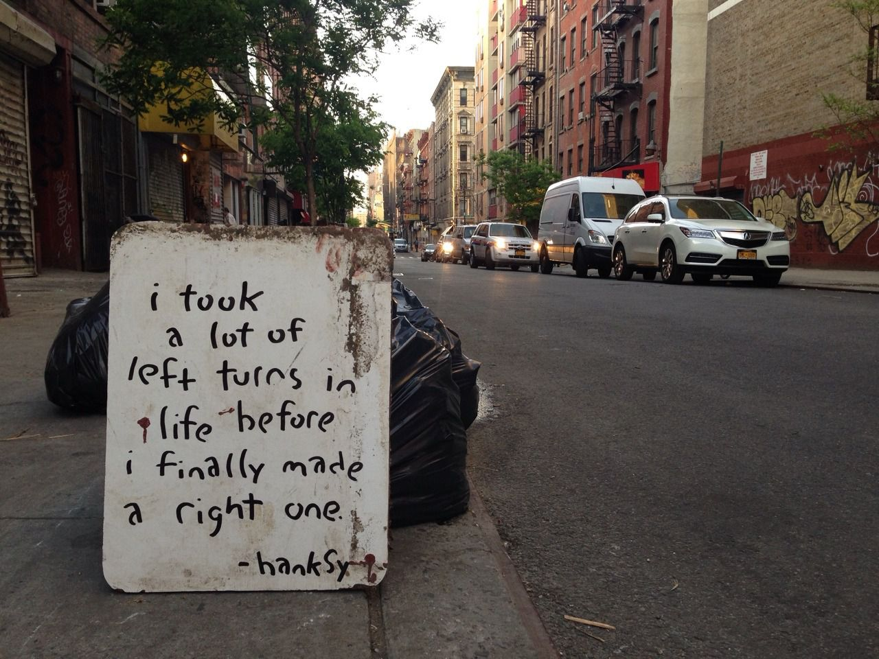 A RIGHT TURN { inspiration }