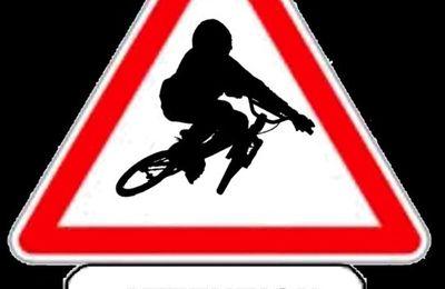 Stages BMX fin janvier.