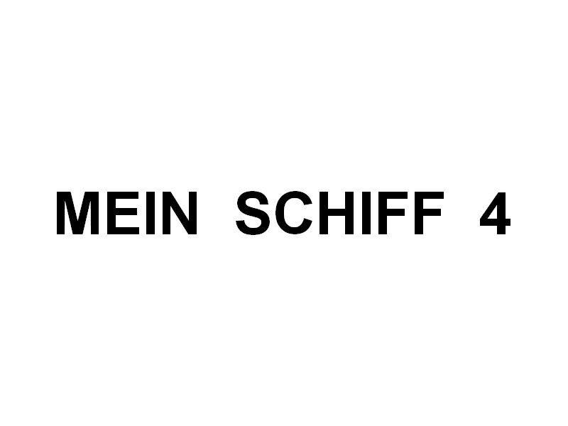 MEIN  SCHIFF  4 , arrivant à la Seyne sur Mer  le 19 avril 2016