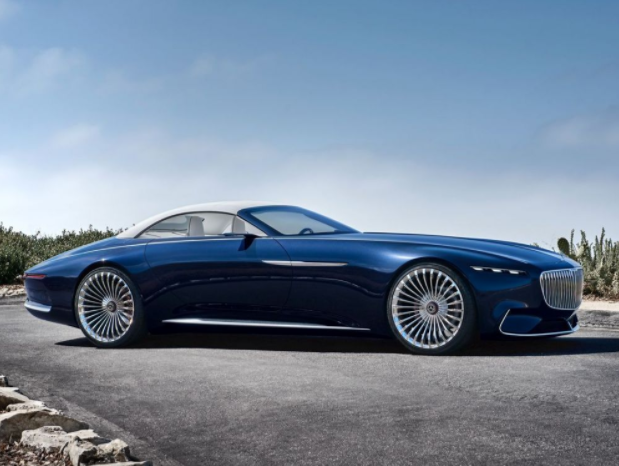 Yachting - Vision Mercedes-Maybach 6, le cabriolet yacht !