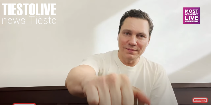vidéo, Tiësto for Ask Anything Chat - may 21, 2021
