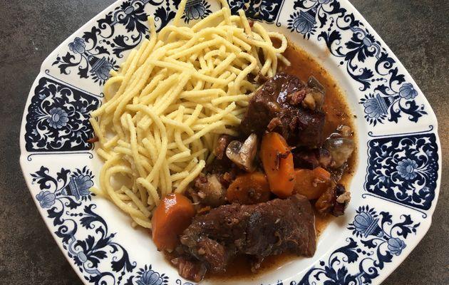 Boeuf bourguignon, le plat réconfortant par excellence