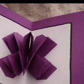 DIY Comment faire une carte en Kirigami / Kirigami Card