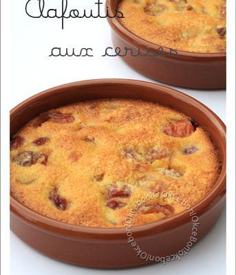 Clafoutis aux cerises, amande, mascarpone et Tonka