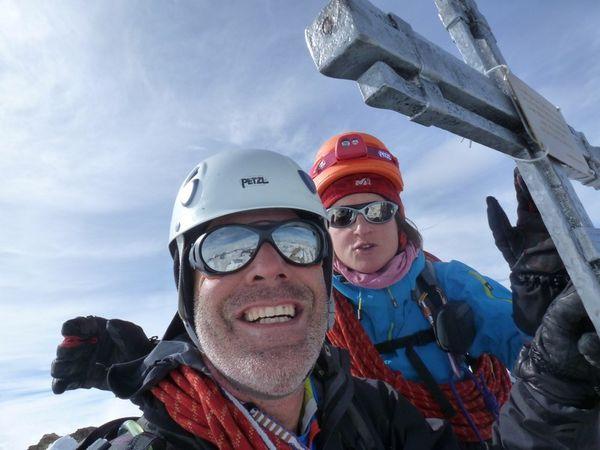 traversée Lenzspitze Nadelhorn et sommet du Nadelhorn