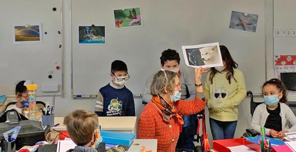 Atelier concentration en classe de C.E.1