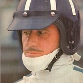 CARTE POSTALE PORTRAIT GRAHAM HILL PILOTE F1 1966 - car-collector.net