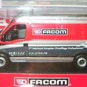 RENAULT MASTER OUTILS FACOM NOREV 1/43 90 ANS ANNIVERSAIRE FACOM - car-collector.net