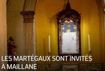 LES MARTÉGAUX SONT INVITÉS À MAILLANE