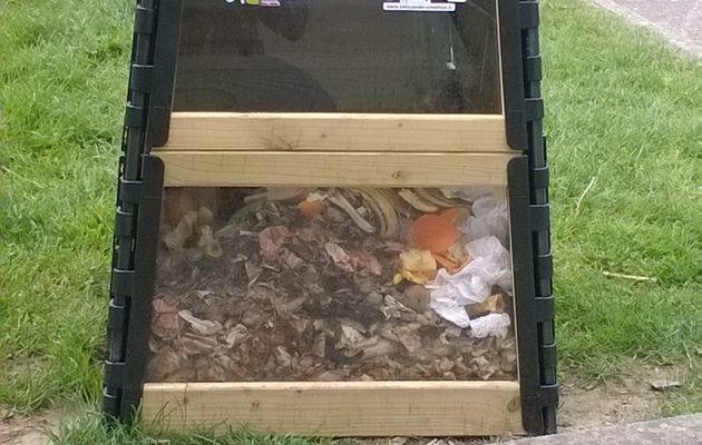 CM1 Composter c'est recycler!