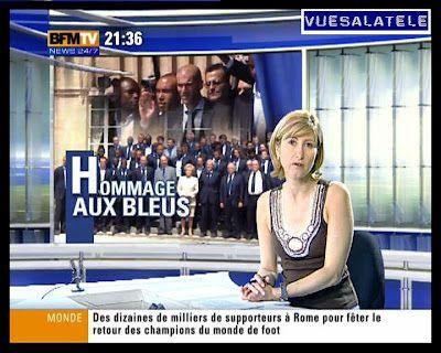 2006 07 10 - FLORENCE DUPRAT - BFM TV