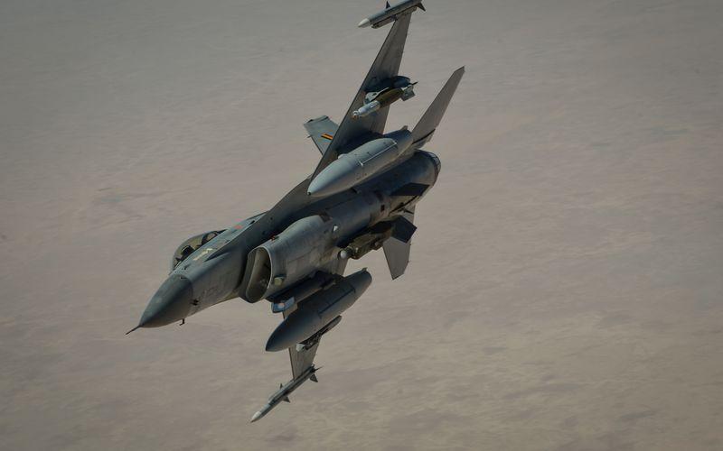 Les F-16AM de la Composante Air ont quitté l'Irak