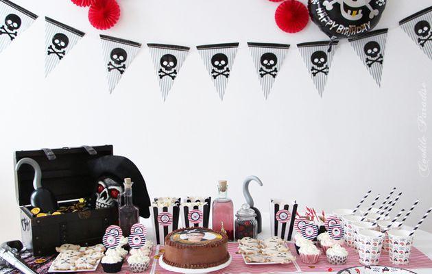 Fête d'anniversaire pirate