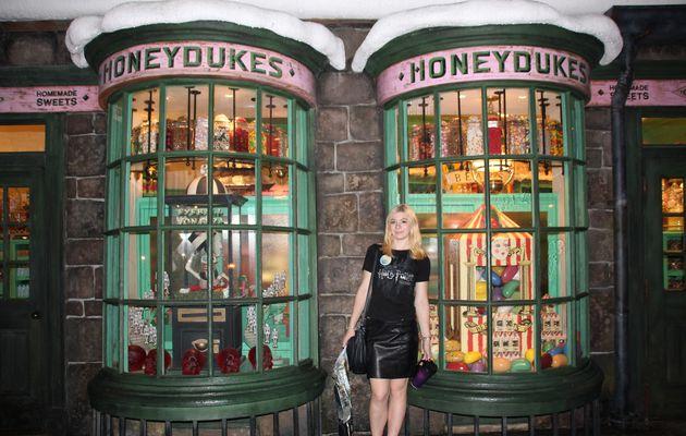 Honeydukes et les boutiques de Pré-au-Lard
